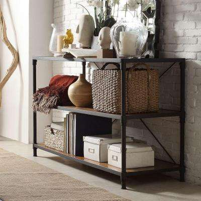 Addison Black Console Table