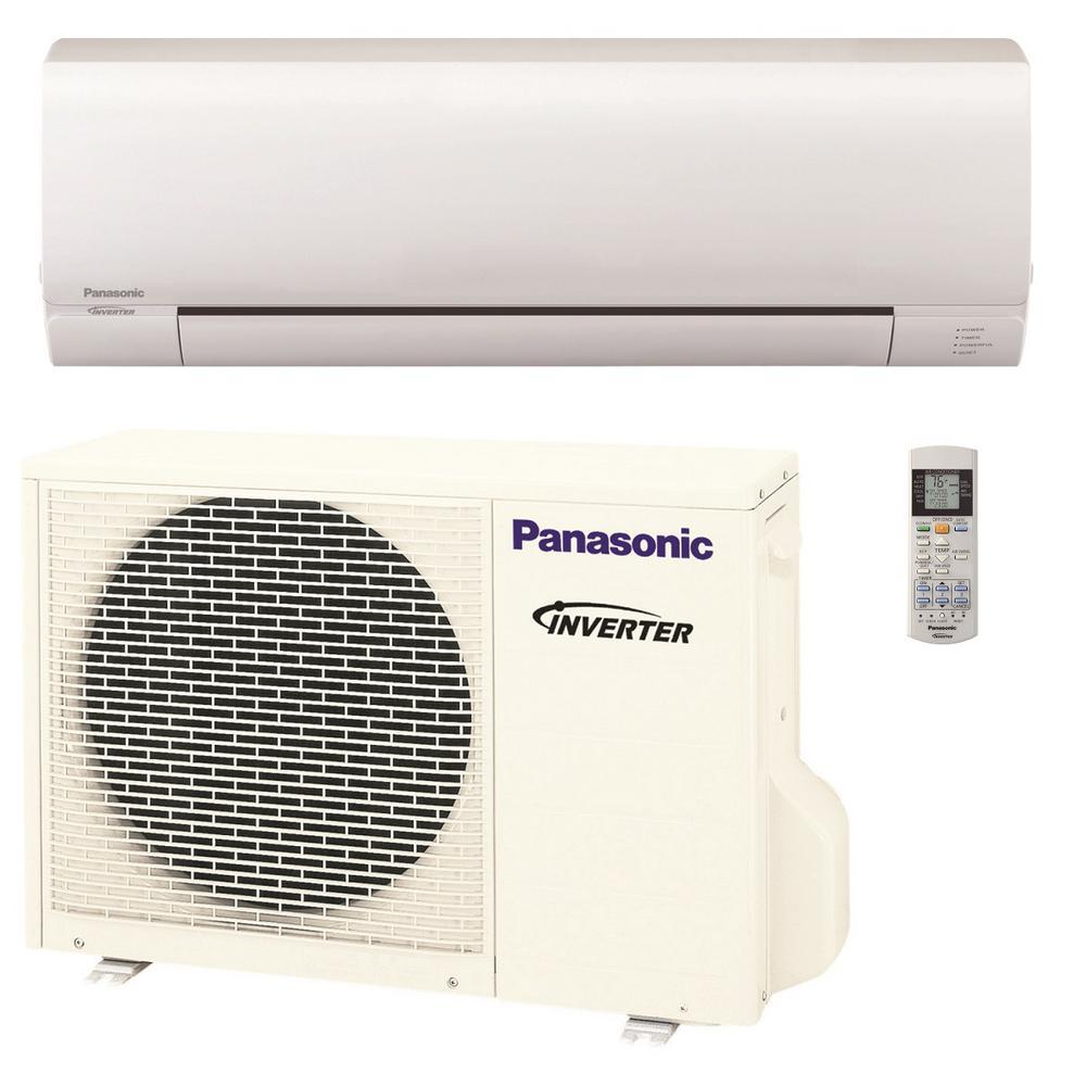 9,000 BTU 3/4 Ton Pro Series Ductless Mini Split Air Conditioner with Heat Pump - 208-230V/60Hz