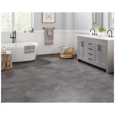 Cascade Ridge 24 in. x 12 in. Slate Ceramic Floor and Wall Tile (15.04 sq. ft. / case)