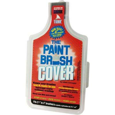 4 in. Storage and Protective Device Paint Brush Cover