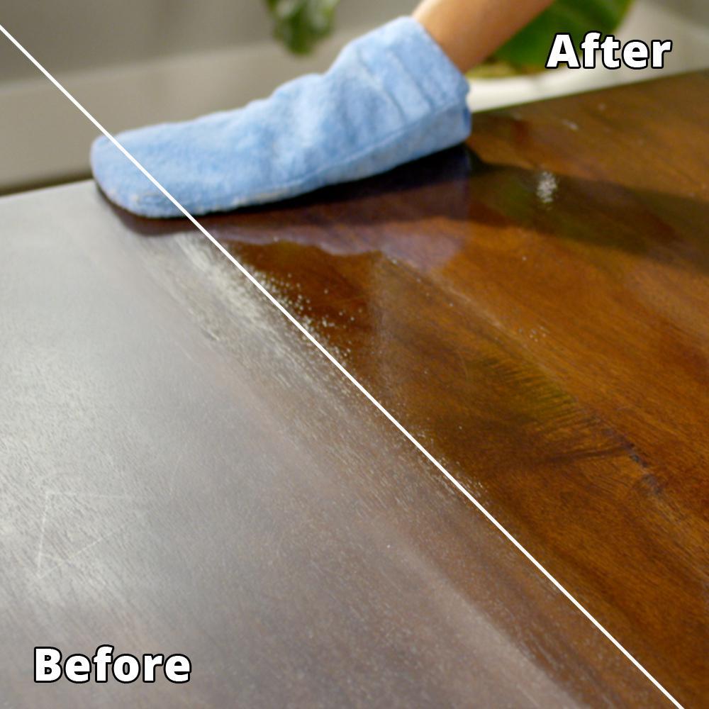 Rejuvenate 16 Oz Cabinet And Furniture Restorer And Protectant Rj16cclam The Home Depot