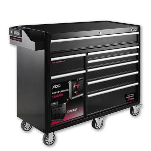 XDD 56 inch 8-Drawer Tool Chest Cabinet Mobile Work Bench in Matte Black by XDD