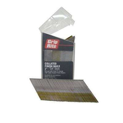 2 in. x 15-Gauge 304 Stainless Steel Nails (1000-Pack)