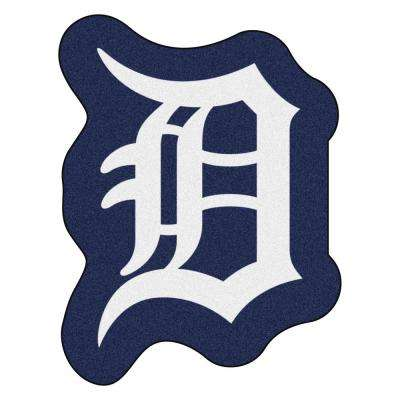 MLB - Detroit Tigers 39.3 in. x 30 in. Indoor Area Rug Mascot Mat