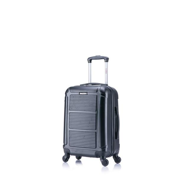 InUSA Pilot lightweight hardside spinner 20 in. carry-on Black IUPIL00S-COA
