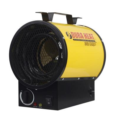DuraHeat 3750 Watt, 12,800 Btu, 220 Volt Mountable Or Portable Electric Fan Forced Air Heater