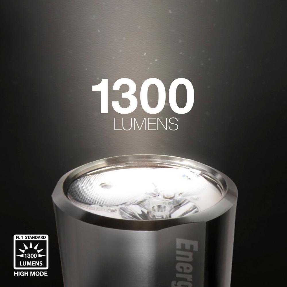 Energizer epmzh Vision 61 HD 1300 LM DEL Aluminium Lampe de poche maxviz
