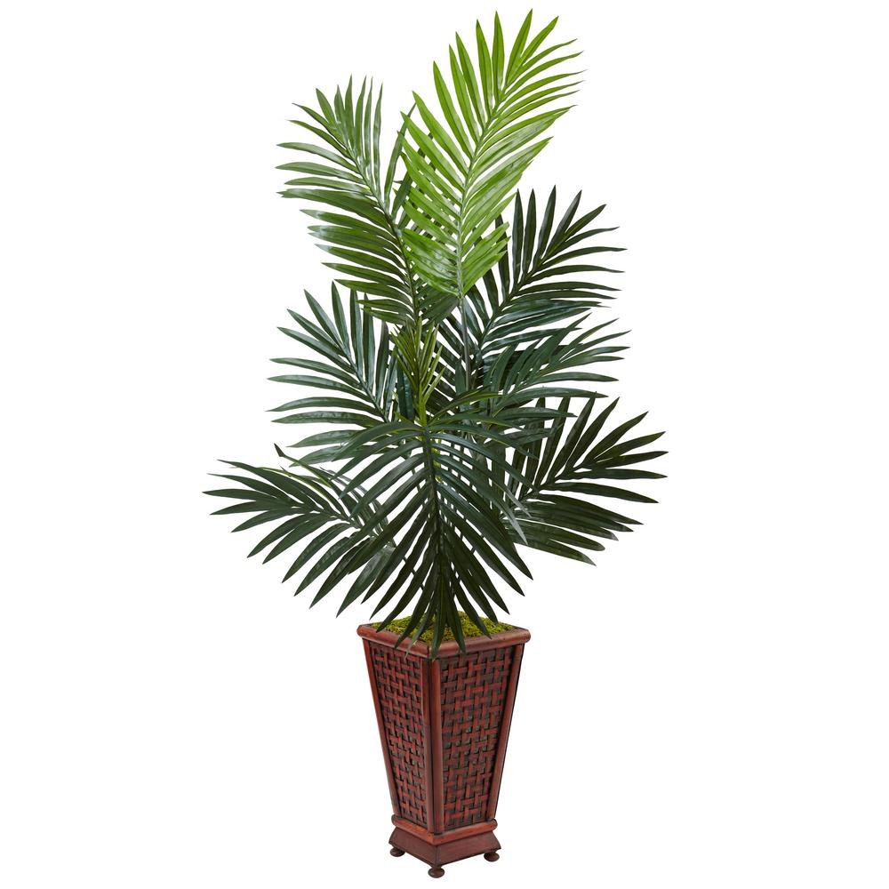Nearly Natural Indoor Kentia Palm Artificial Tree In