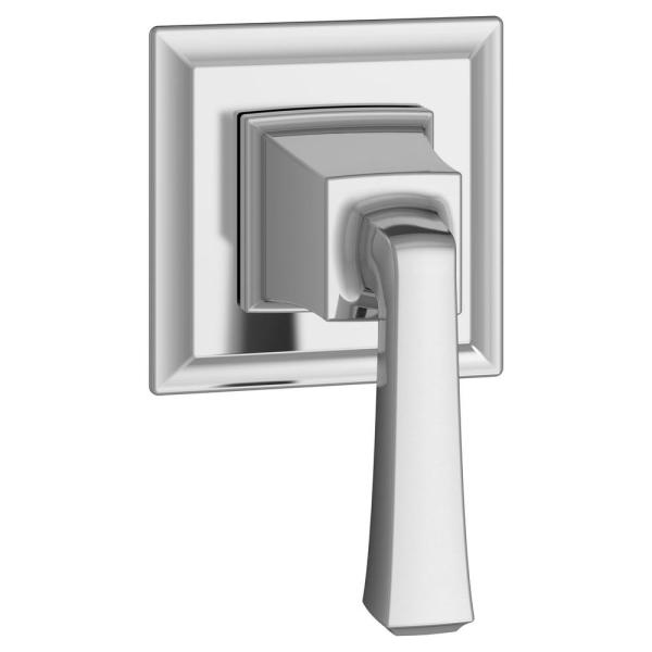 Town Square S 1-Handle Wall Mount Shower Diverter Valve Trim Kit in Chrome (Valve Not Included)