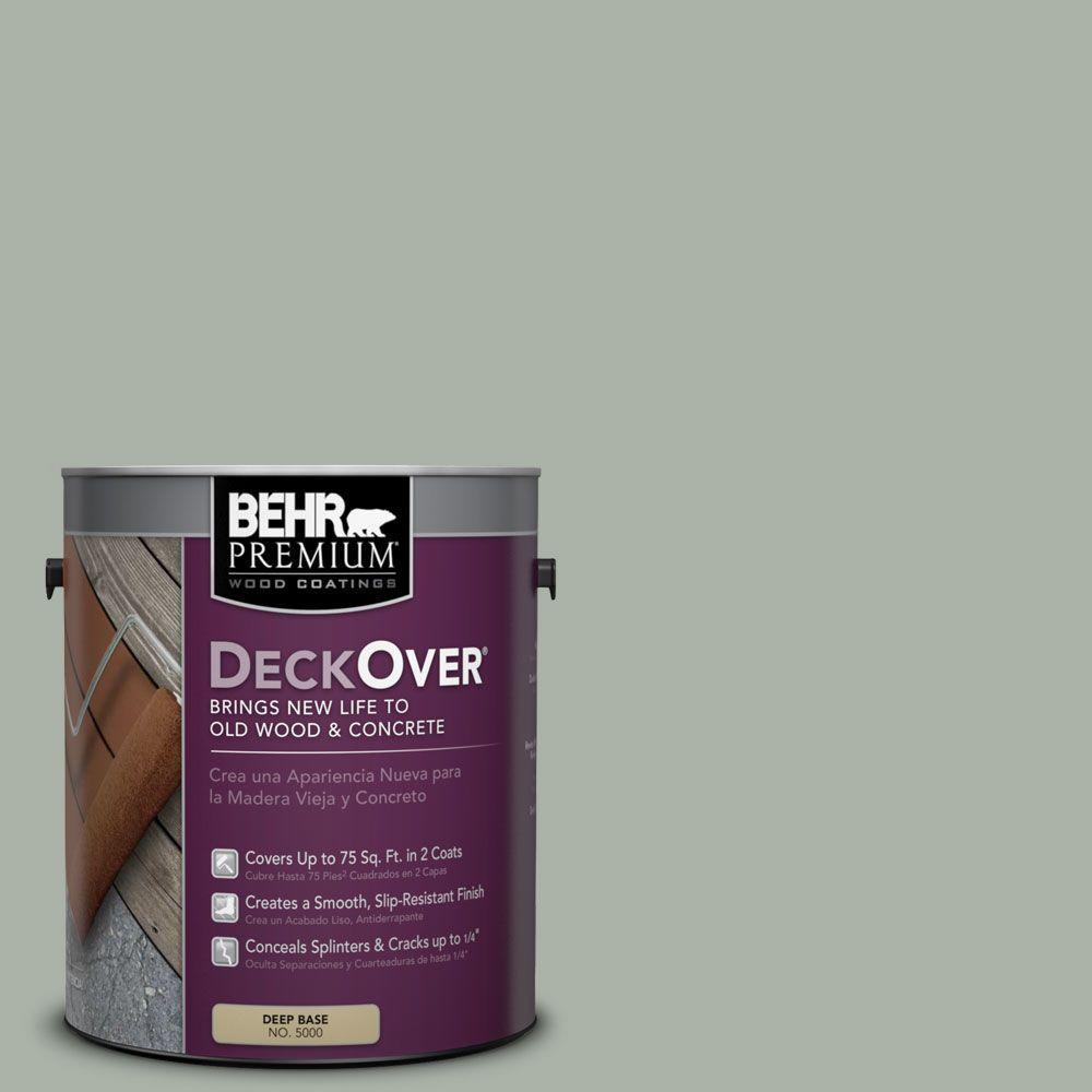 BEHR Premium DeckOver 1 gal. #SC-149 Light Lead Wood and Concrete Coating