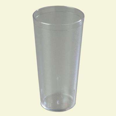 24 oz. SAN Plastic Stackable Tumbler in Clear (Case of 72)