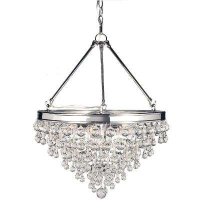 crystal pendant lighting kitchen milton 6light chrome crystal pendant decor living lights lighting the home depot