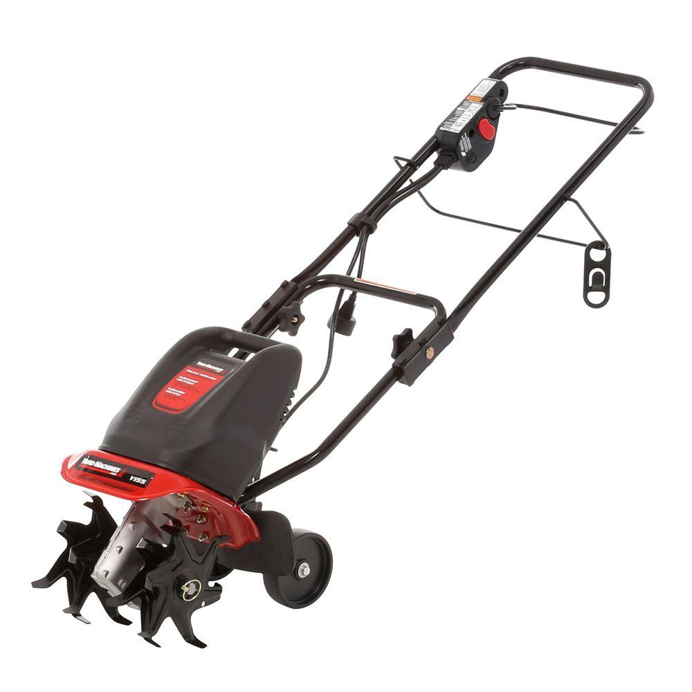 Yard Machines 9 in. 6.5-Amp Forward-Rotating Corded Electric Cultivator