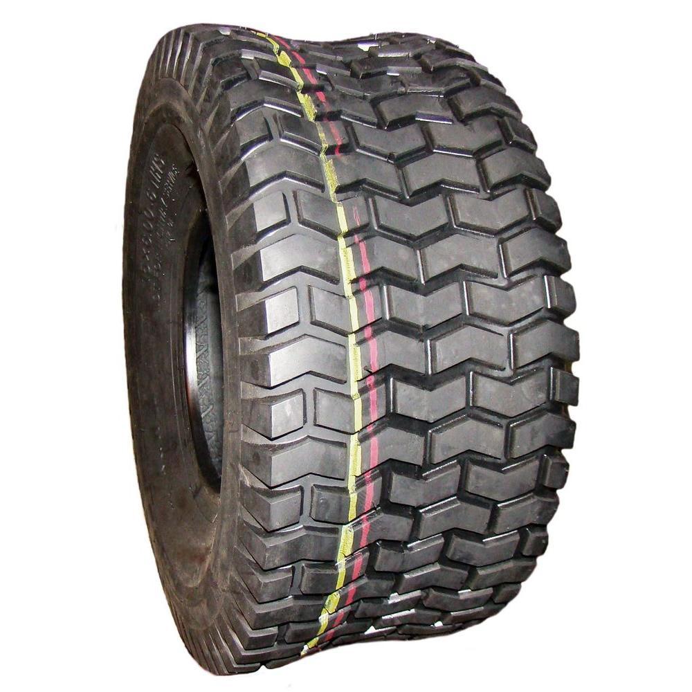 Hi-Run 2 Ply Tire Super Lug 12 PSI 18 X 9.5-8 Inch ATV Mower Replacement Part