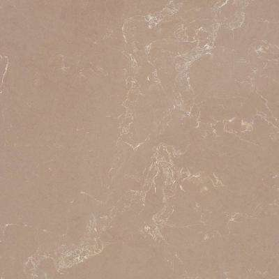 10 in. x 5 in. Quartz Countertop Sample in Tuscan Dawn