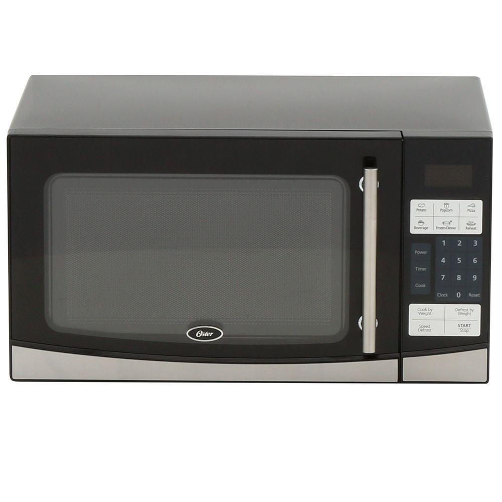 1.1 cu. ft. 1000-Watt Countertop Microwave in Black
