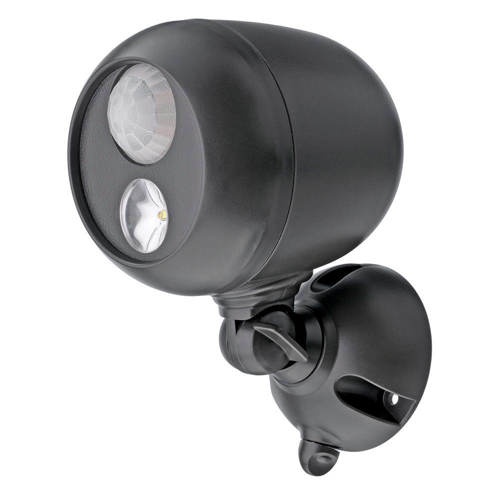 Outdoor Brown Wireless Motion Sensing LED Spot Light