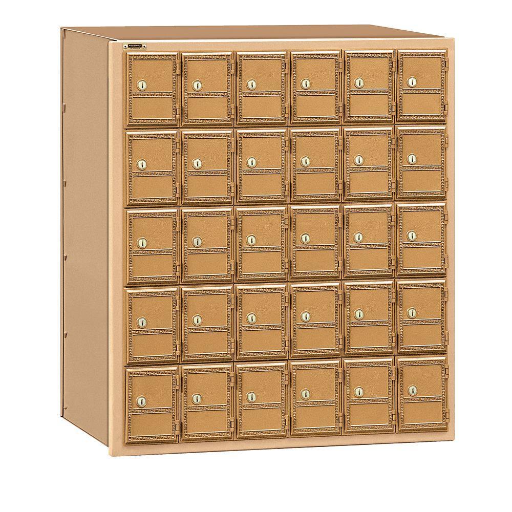 2100 Series Rear Loading Americana Mailbox with 30 Doors