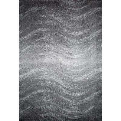 Julene Grey 8 ft. x 10 ft. Area Rug