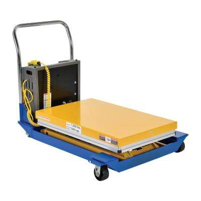 1,500 lb. 36 in. x 24 in. Dc Powered Scissor Cart