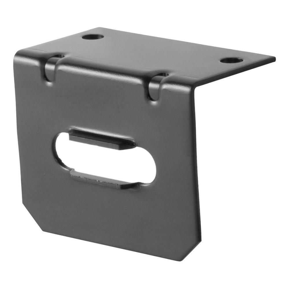 CURT Connector Mounting Bracket for 4-Way Flat