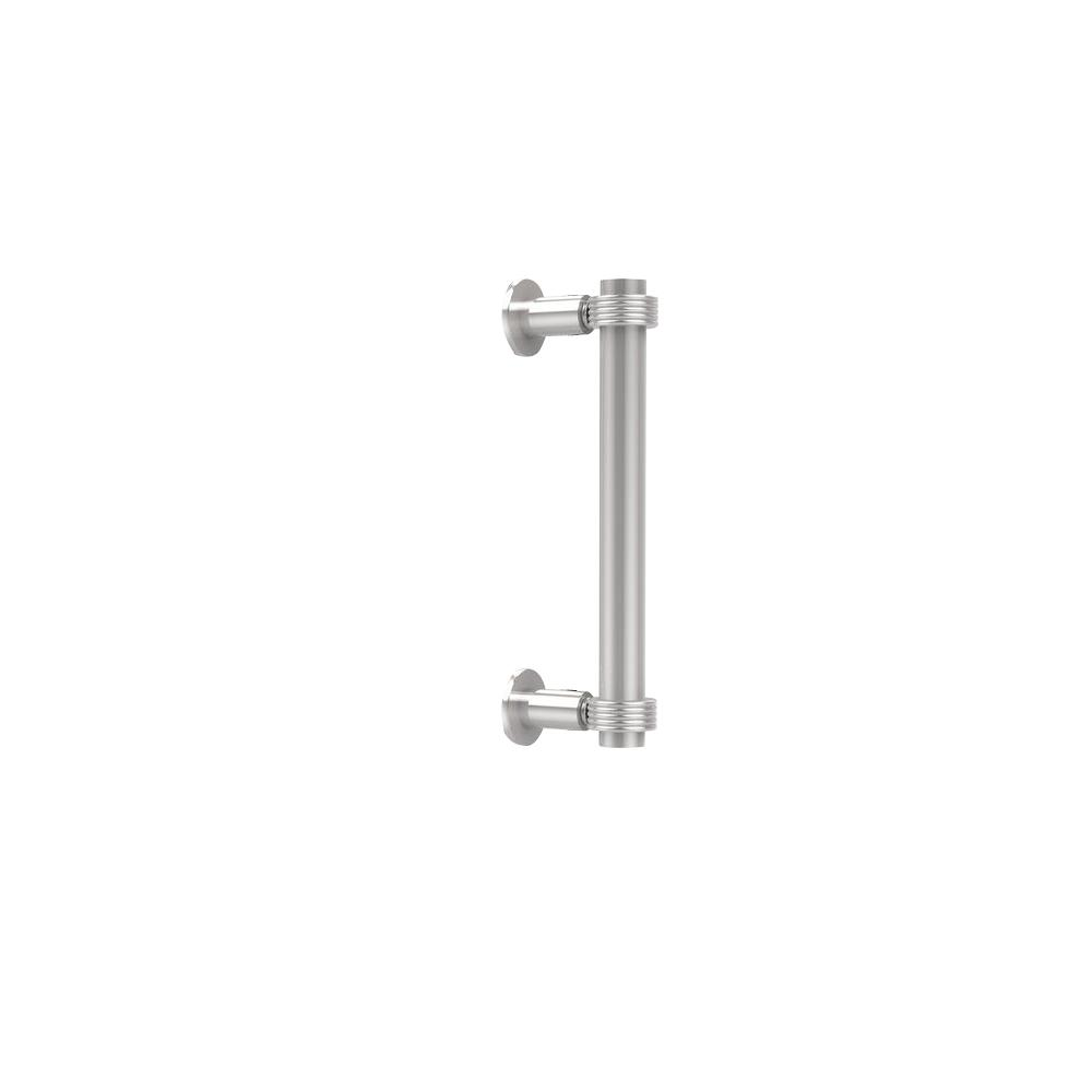 Contemporary 8 in. Back to Back Shower Door Pull in Polished
