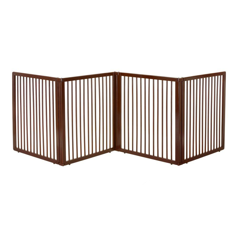 Richell Large Wooden Room Divider94911 The Home Depot