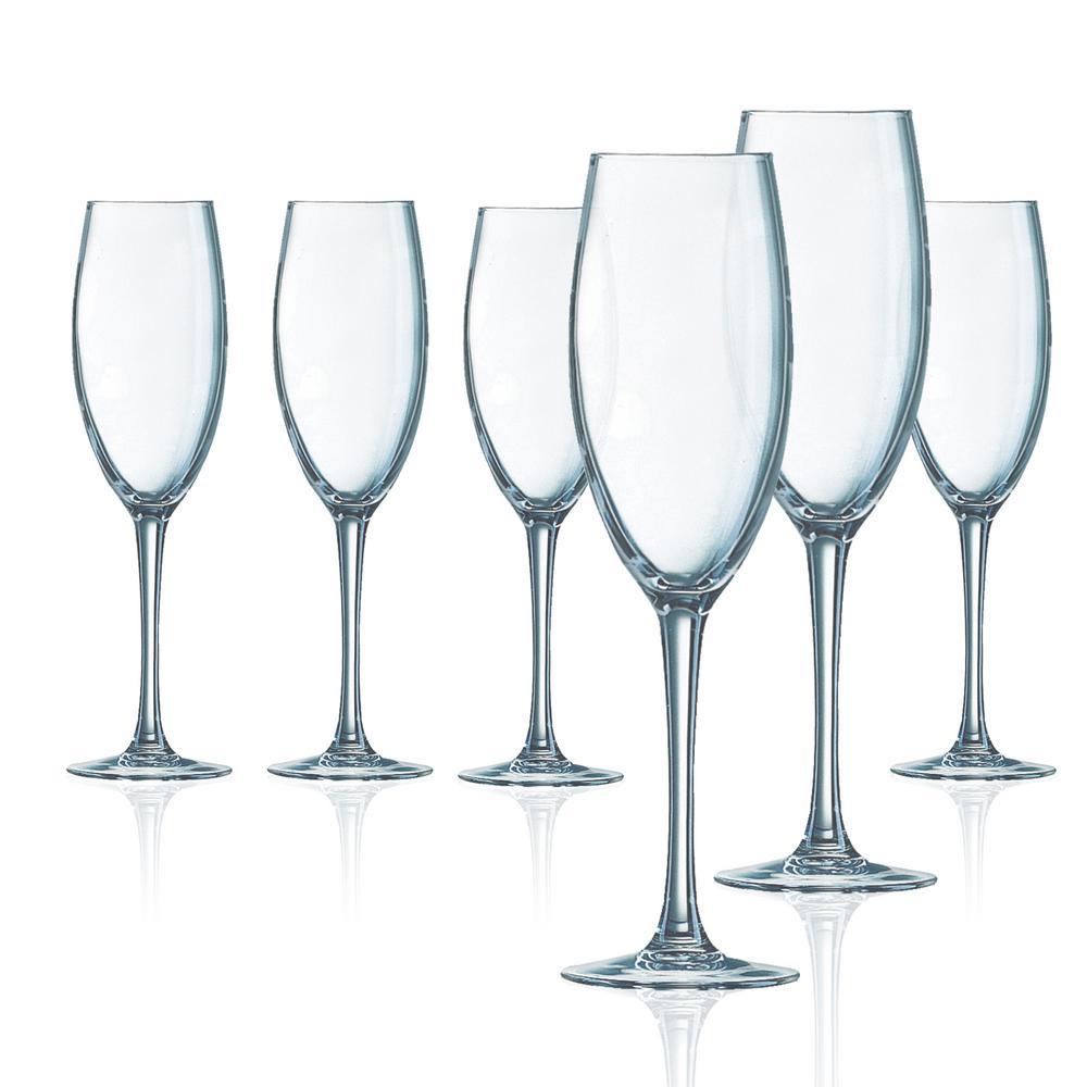 Grand Vin 6-Piece 8 oz. Flute Set