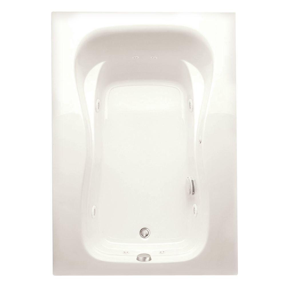 Marratta 5 ft. Acrylic Right Drain Rectangular Apron Front Soaking Bathtub