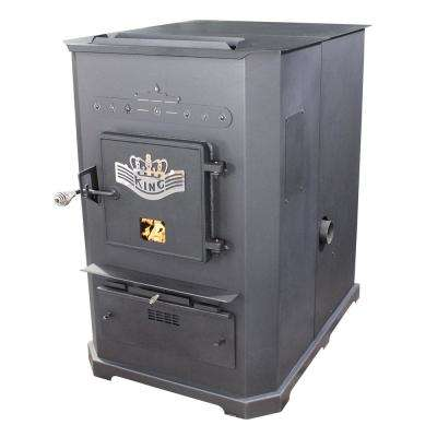 3,000 sq. ft. Multi-Fuel Furnace Pellet Stove