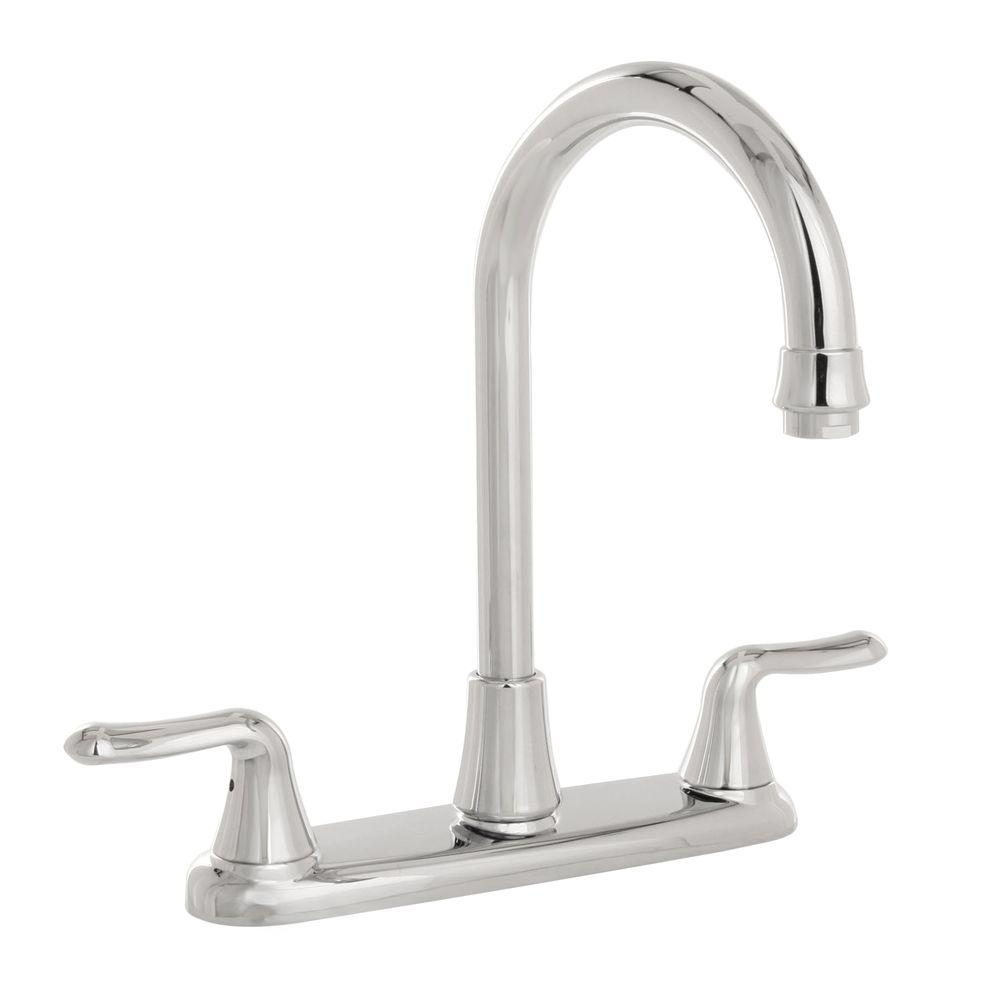 American Standard Cadet 2-Handle Kitchen Faucet in Chrome-DISCONTINUED