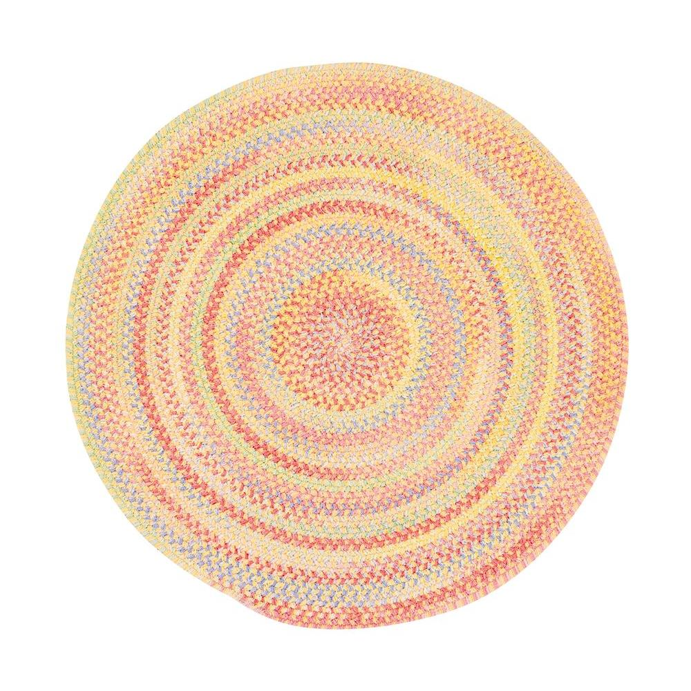 Capel Country Grove Buttercup 3 ft. Round Accent Rug