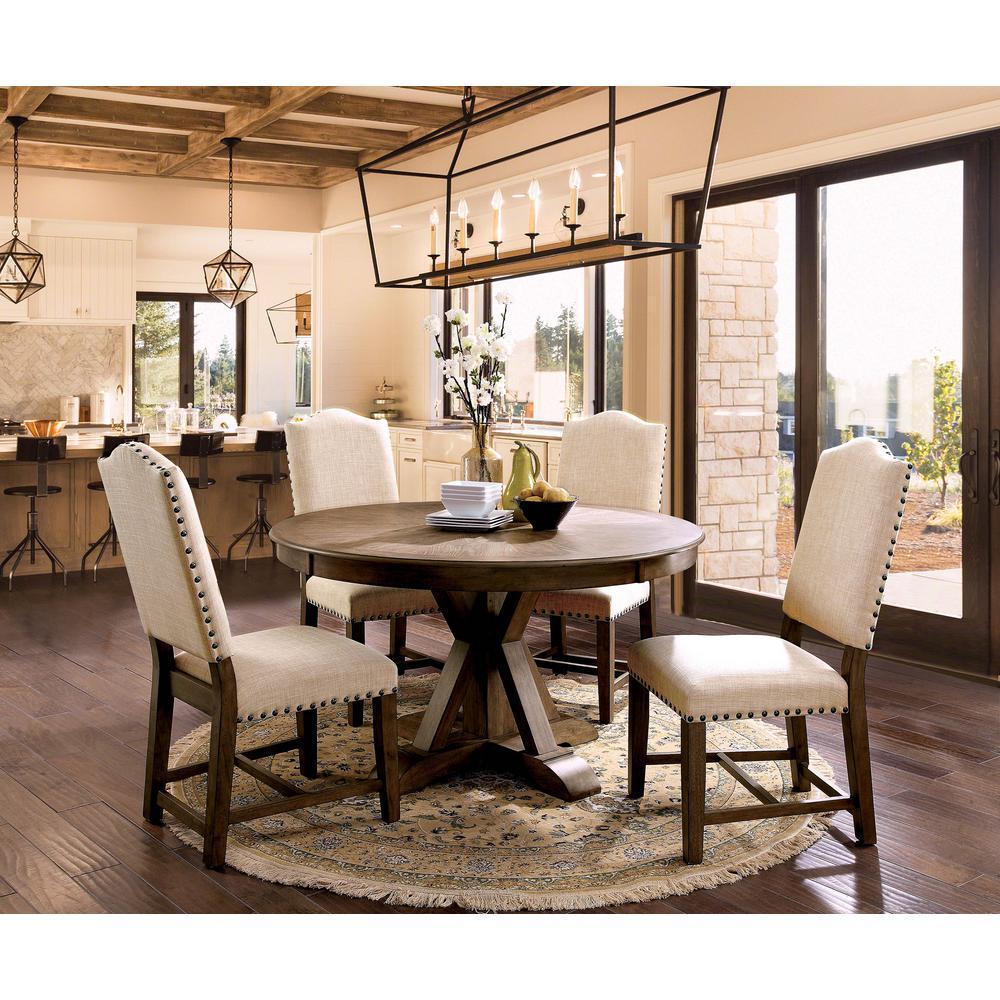 William\'s Home Furnishing Julia Light Oak Transitional Style ...