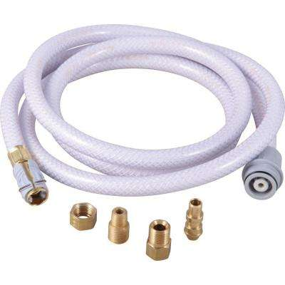 6 ft. Plastic Spray Hose in Gray