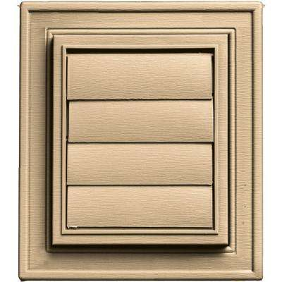 Square Exhaust Siding Vent #045-Sandstone Maple