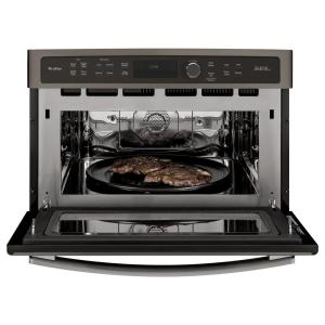 GE Profile 27 in Single Electric Wall Oven Advantium Technology in