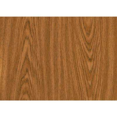 26 in. x 78 in. Oak Self-adhesive Vinyl Film for Furniture and Door Renovation/Decoration