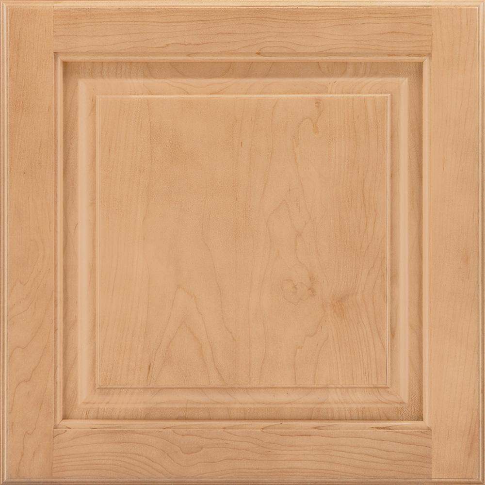 14-9/16x14-1/2 in. Cabinet Door Sample in Portola Maple Honey