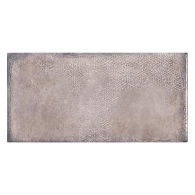 Umbra Grey 6 in. x 12 in. Glossy Porcelain Wall Tile (9.68 sq. ft./Case)