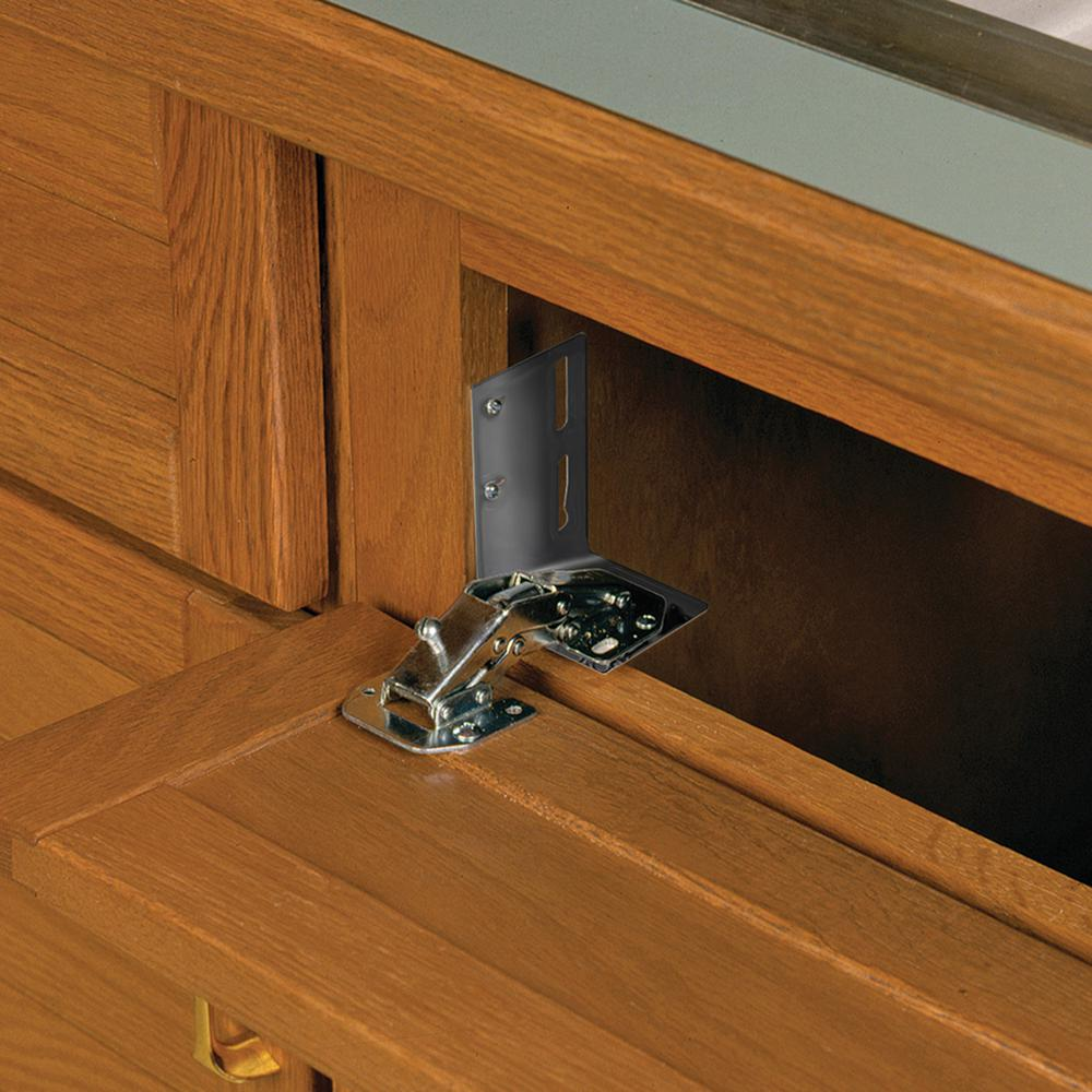 2.88 in. x 3.75 in. x 2.25 in. Euro Tray Hinges