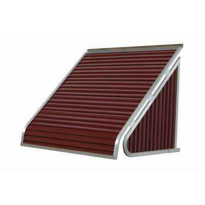 4 ft. 3500 Series Aluminum Window Awning (28 in. H x 24 in. D) in Burgundy