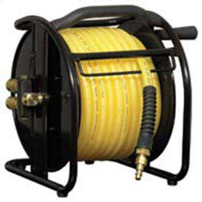Dual-Port Air Hose Extension Reel