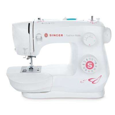 Fashion Mate 23-Stitch Electric Sewing Machine with Automatic Needle Threading in White