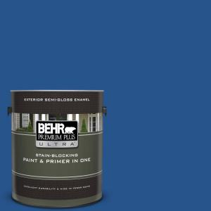 Ppu15 03 Dark Cobalt Blue Semi Gloss Enamel Exterior Paint