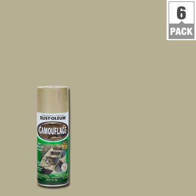 12 oz. Sand Camouflage Spray Paint (6-Pack)