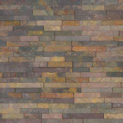 Salvador Classic Corner 6 in. x 6 in. Natural Slate Wall Tile (6 sq. ft. / Case)