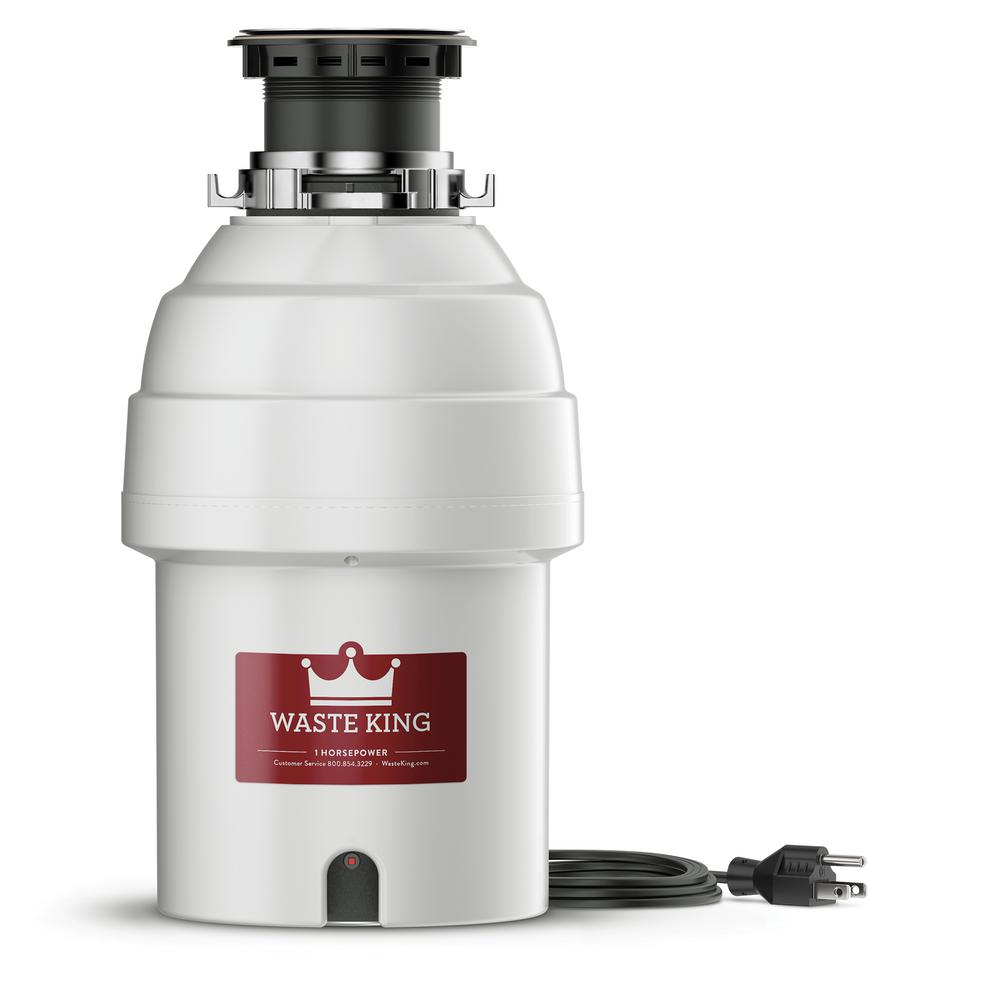 Waste King 1 HP Continuous Feed Garbage Disposal