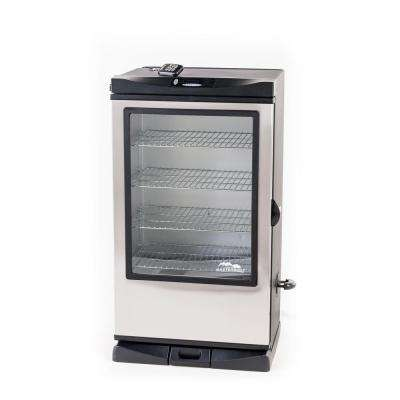 40 in. Digital Electric Smoker with Remote and Window
