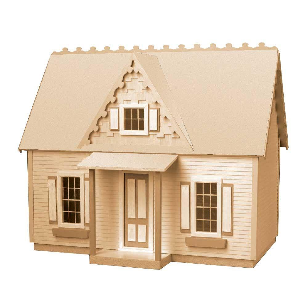 Victorian Cottage Jr Dollhouse Kit 94588 The Home Depot