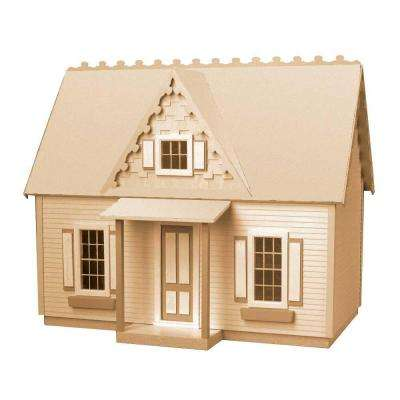 Victorian Cottage Jr. Dollhouse Kit